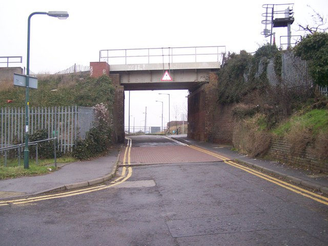 Railbridge over Station Road