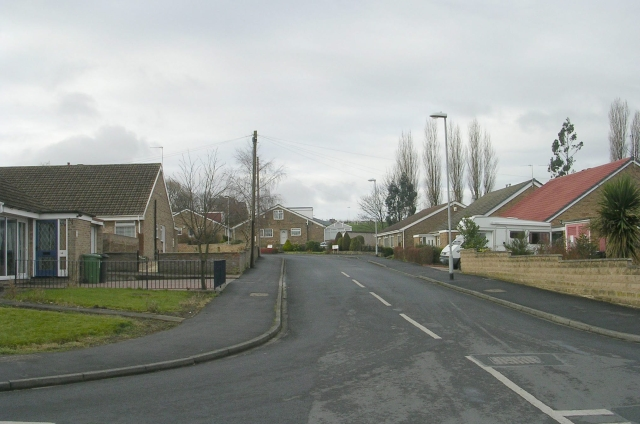 Priestley Close from Priestley Drive
