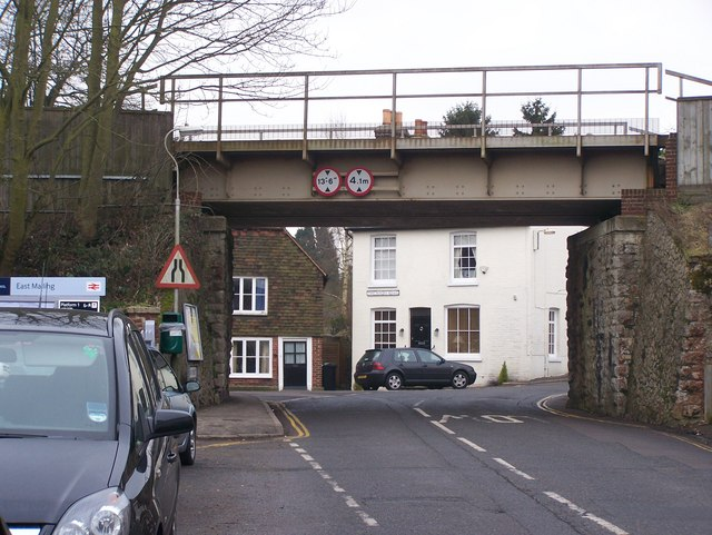 Railway bridge over High Street