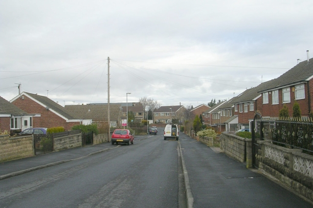 Priestley Drive - from Priestley View
