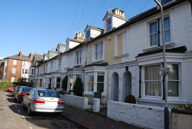 Terraced houses, Buckingham Rd