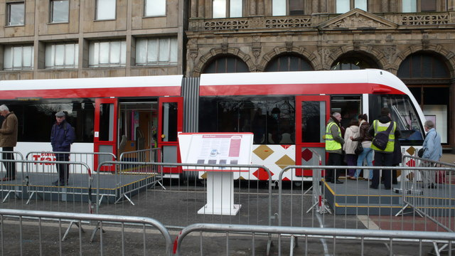 Public Exhibition of Edinburgh Trams
