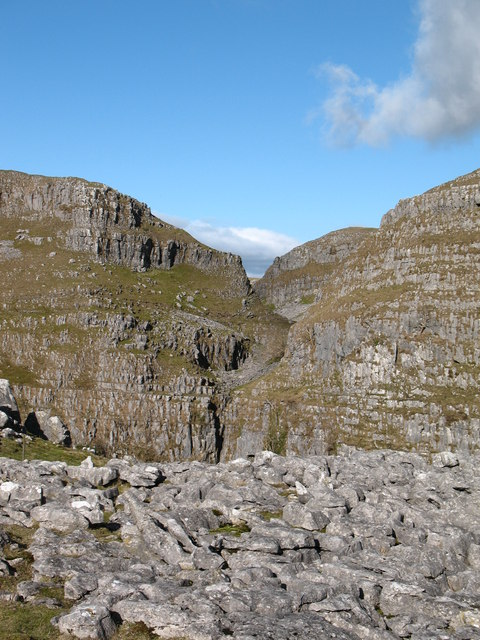 'Dry Waterfall' at Comb Scar