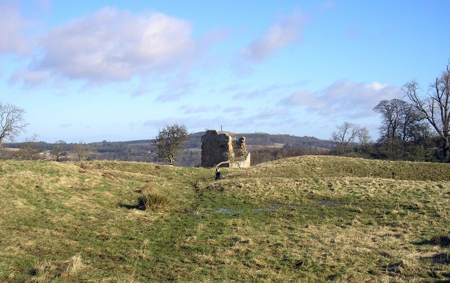 Timpendean Tower and the Pictish Earthworks