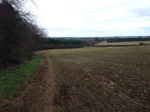 Robin Hood Way toward Holbeck