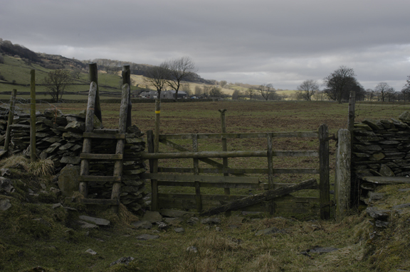 Gate and stile on the Ribble Way