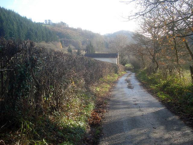 Laneside house at Lower Lye