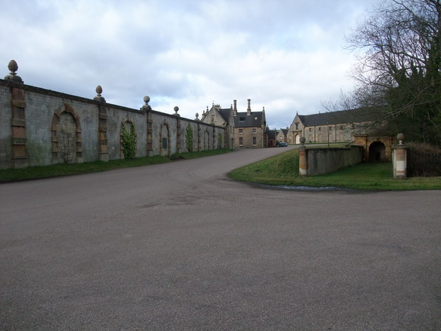 Part of the Welbeck Estate buildings