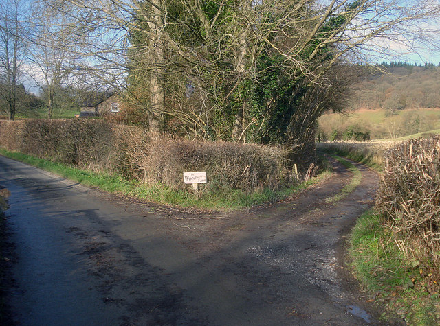 Entrance to Woodhampton Farm