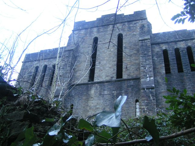 St Lukes church, Abercarn