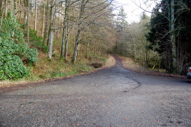Old road up the Byreburn