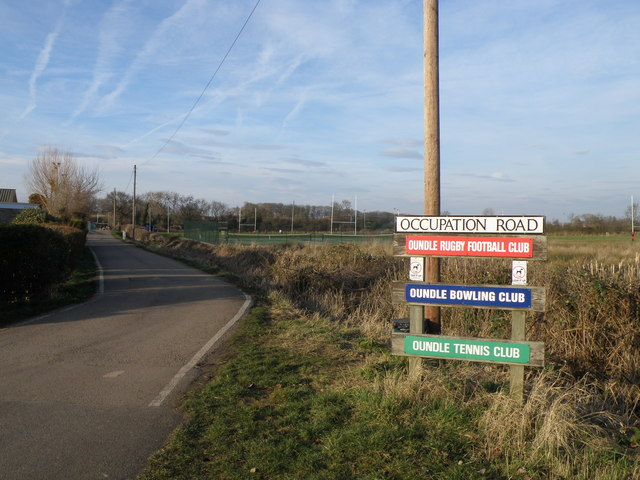 Occupation Road, Oundle