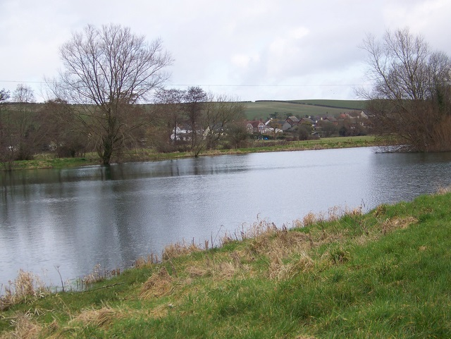 Fishing lake near tolpuddle maigheach gheal geograph for Nearest fishing lake