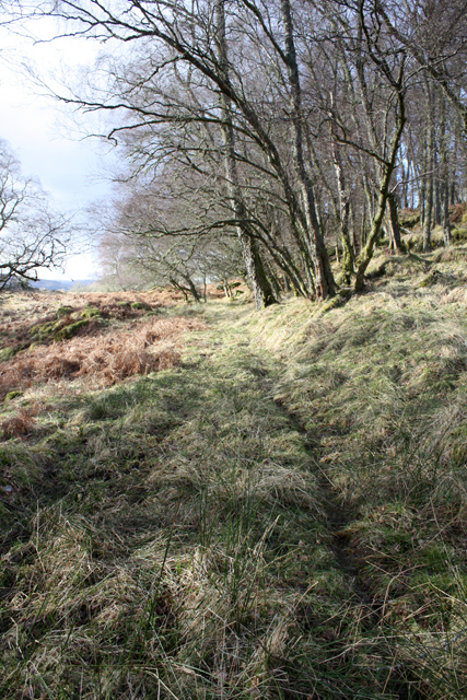 Old track near Croftvellick