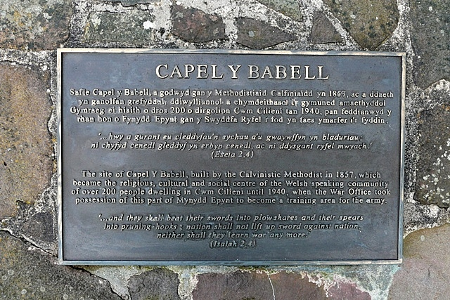 Babell chapel