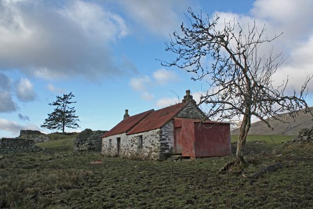 Derelict Cottage, Balnreich