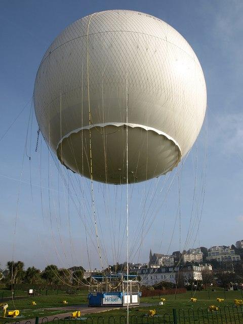 Hi-Flyer Balloon, Abbey Park, Torquay