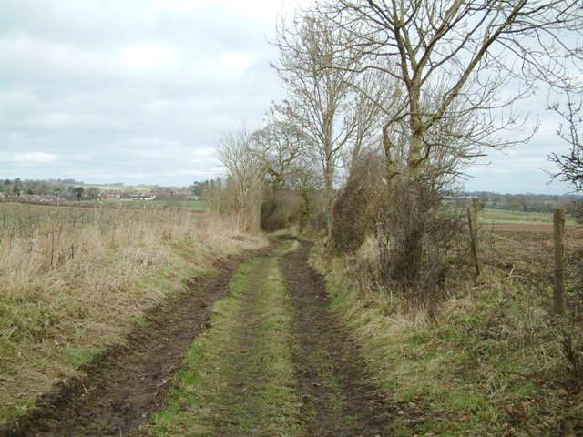 Track near Norton Forge