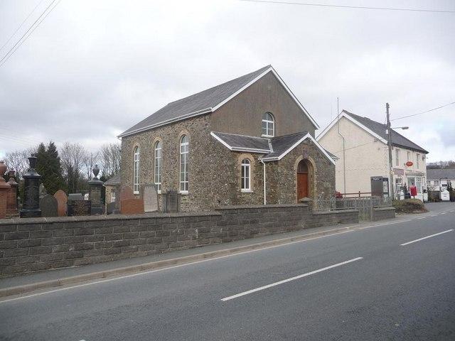Gwyddgrug: the Independent Church