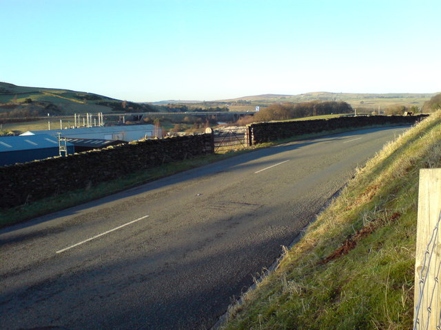 A685 and looking across the Lune Valley