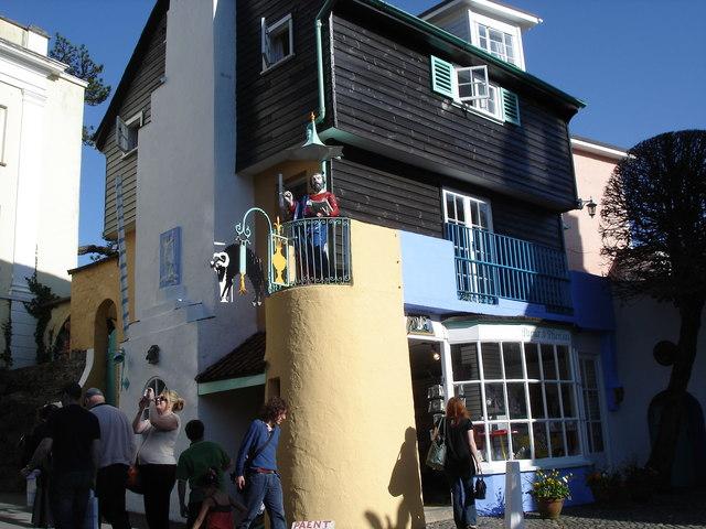 Portmeirion - a house