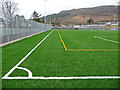 NG4743 : Portree High School playing field : Week 8