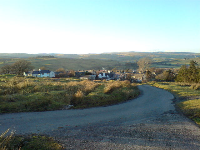 Looking down towards Tebay