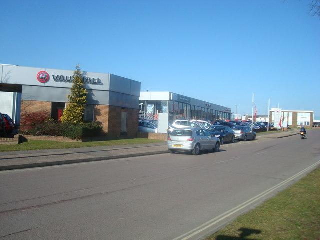 Car Dealer, Priestley Way, Crawley