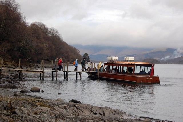 Ferry on Derwent Water