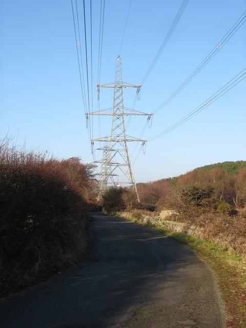 Minor road to Wylfa Head