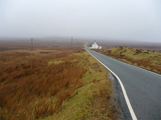 The road to the north of Trotternish