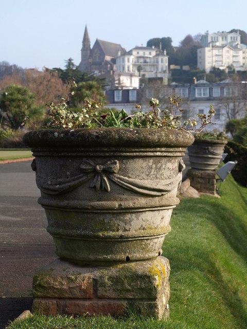 Plant tub, Abbey Park, Torquay