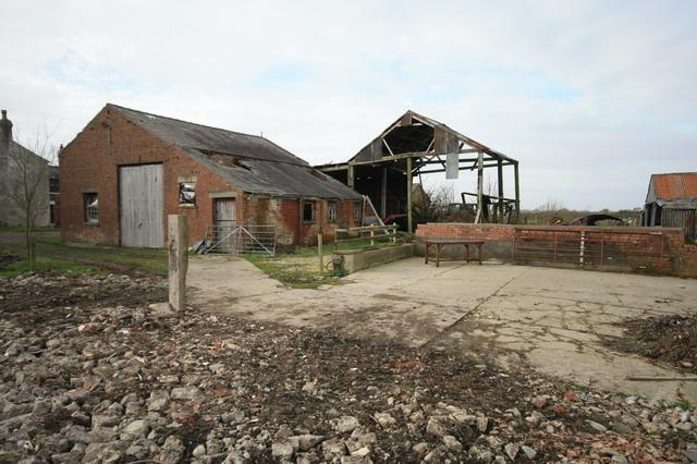 Derelict Buildings at Wellhouse Farm
