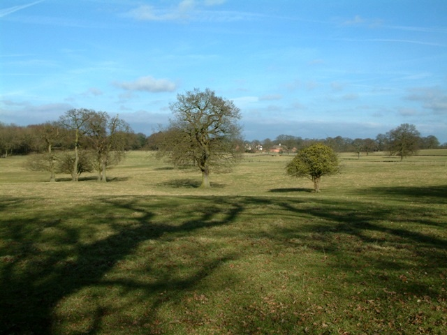 Farmland near Brand Hall