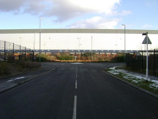 Distribution facility for J Sainsbury, Hams Hall