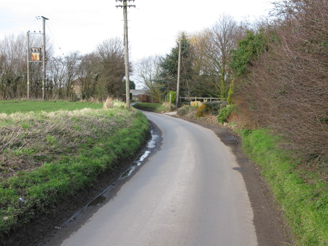 View along Knell Lane