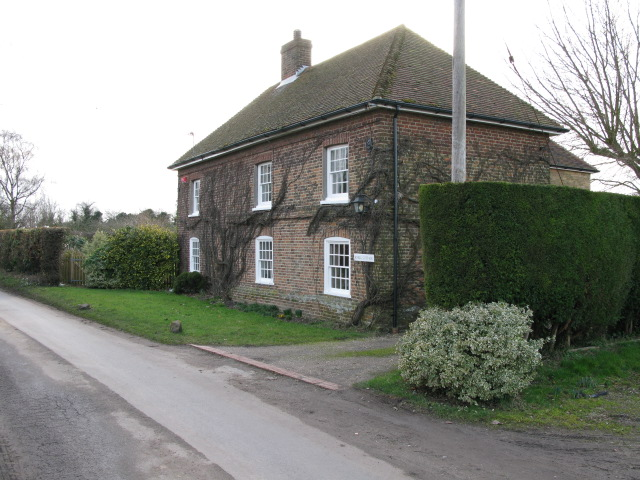 House on the W side of Knell Lane