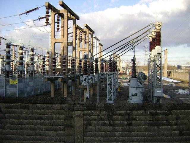 Electrical installation, Hams Hall