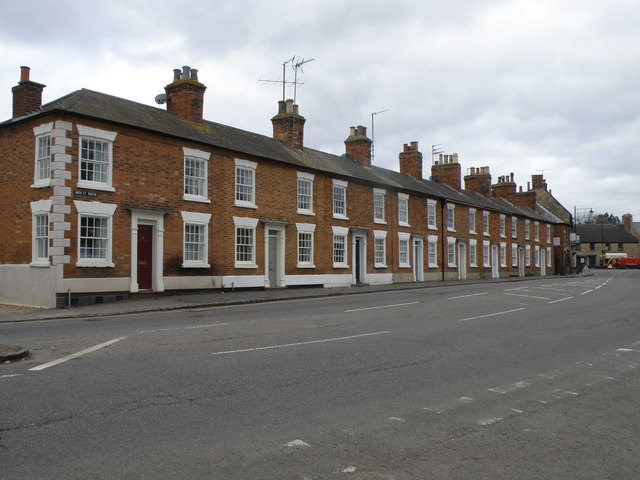 Houses on High Street South
