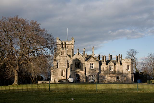 Stately Scottish Castle