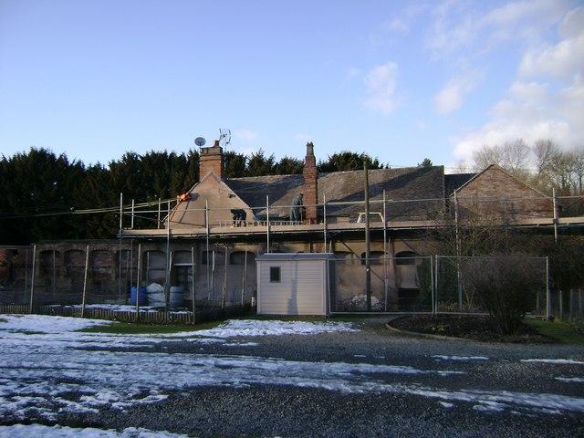 Head gardener's cottage, Hams Hall