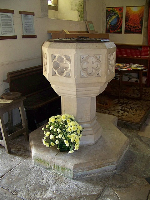 Font, The Church of St John the Evangelist, Tolpuddle