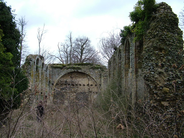 Remains of Sibton Abbey