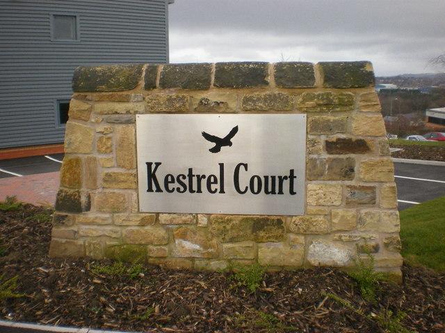 Kestrel Court, Network 65 Business Park, Sign