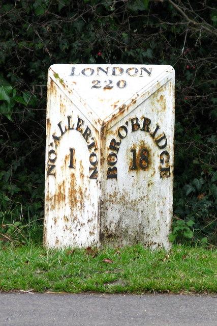 Northallerton Milepost