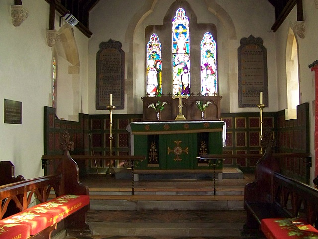 Interior, The Church of St John the Evangelist, Tolpuddle