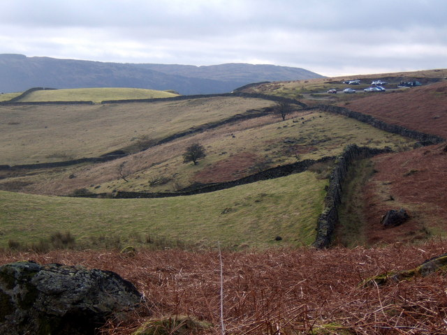 Transition between fields and fellside