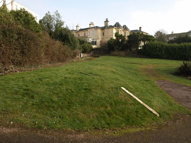 Area at rear of Torquay Lawn Tennis Club