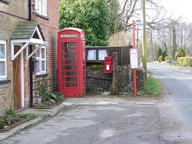 Telephone box, Burleston