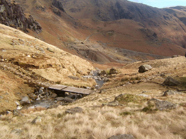 Low Water Beck and the Coppermines Valley